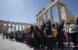 Trẻ em Hy Lạp kỷ niệm ngày xóa bỏ nạn phân biệt chủng tộc