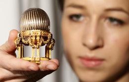 Trưng bày quả trứng Faberge tìm thấy sau 112 năm tại Anh