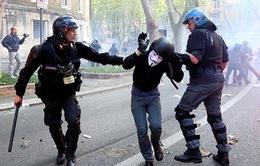 Thủ đô Rome, Italy tê liệt vì biểu tình quy mô lớn