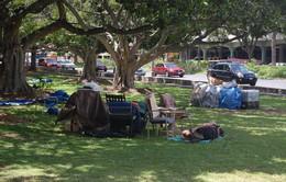 Người vô gia cư - Mặt trái của thiên đường du lịch Hawaii