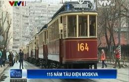 Tàu điện Moscow - Hình ảnh quen thuộc với người Nga