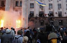 Ukraine: Cháy tòa nhà công đoàn ở thành phố Odessa
