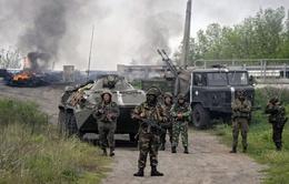 Ukraine: Quân đội tái chiếm một nửa Slaviansk