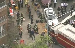 Mỹ: Tàu điện ngầm trật bánh, 4 người bị thương nặng