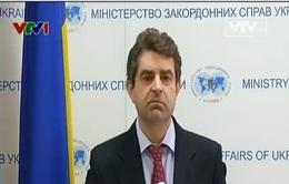 Ukraine kêu gọi tổ chức hội nghị về thỏa thuận Geneva