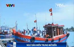 Ngư dân miền Trung mở biển khẳng định chủ quyền biển đảo