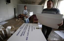Ukraine quyết tâm tổ chức bầu cử thành công