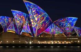 Rực rỡ lễ hội ánh sáng 2014 tại Sydney, Australia
