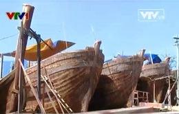 Bình Định đóng 27 tàu vỏ sắt, thép cho ngư dân