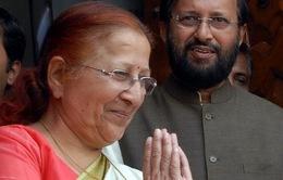 Ấnh Độ: Bà Sumitra Mahajan được bầu làm Chủ tịch Hạ nghị viện