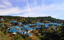 """Ấn tượng ngôi làng """"Xì Trum"""" ở Tây Ban Nha"""