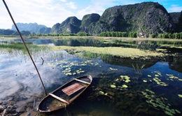 Khám phá thiên nhiên kỳ thú đầm Vân Long, Ninh Bình