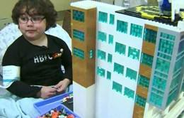 Bệnh viện bằng Lego - Điều ước trọn vẹn của cậu bé mắc bệnh hiếm gặp