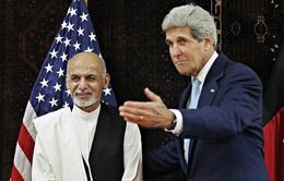 Ngoại trưởng Mỹ tới Afghanistan giải quyết mâu thuẫn hậu bầu cử