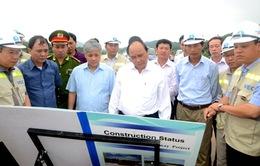 Phó Thủ tướng Nguyễn Xuân Phúc kiểm tra tiến độ thi công cao tốc Nội Bài - Lào Cai