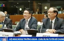 Tuyên bố chung ASEAN - EU nhấn mạnh bảo đảm hòa bình trên Biển Đông