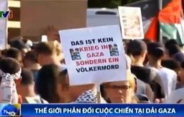 Thế giới phản đối cuộc chiến tại Dải Gaza