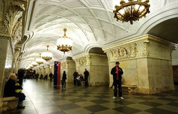 Ga tàu điện ngầm Moscow - Những cung điện lộng lẫy trong lòng đất