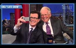 Letterman chào đón người kế nhiệm – Stephen Colbert