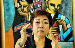 """Triển lãm """" Những đứa trẻ""""  của họa sỹ Nguyễn Thị Hiền"""