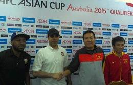 Trước trận ĐT Việt Nam - UAE: Hai đội đều tự tin