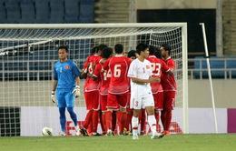 Việt Nam thua đáng tiếc trước UAE