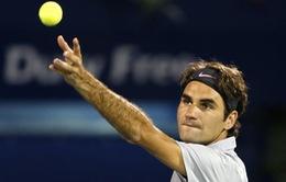 Dubai Open: Federer cùng Djokovic thẳng tiến vào bán kết