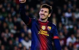 Messi chúc mừng năm mới ra sao?
