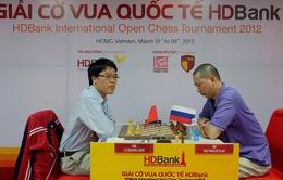 Giải cờ vua quốc tế HD Bank: Quang Liêm trở lại vị trí số 1