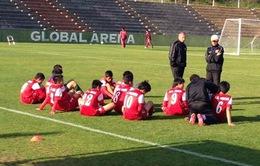 U17 Nhật Bản có thể tái đấu HAGL Arsenal JMG tại Mỹ Đình