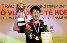 Lê Quang Liêm lần đầu vô địch HD Bank