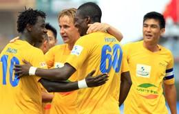 Vòng 3 V-League: Chủ nhà thắng lớn