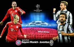 """1h45 ngày 3/4, Bayern Munich – Juventus: """"Kẻ tám lạng, người nửa cân"""""""