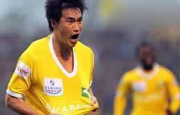 ĐHTB vòng 3 V-League: Công Vinh tiếp tục thăng hoa