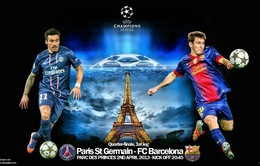 """1h45 ngày 3/4, PSG – Barca: """"Người khổng lồ"""" đốt cháy Paris"""