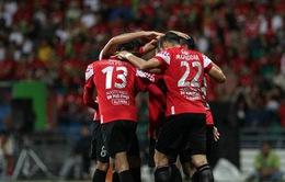 Kelantan 5-0 SHB Đà Nẵng: ĐKVĐ V-League chịu thất bại tủi hổ