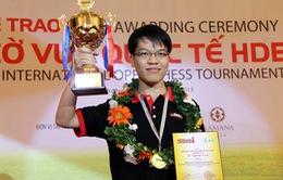 Lê Quang Liêm tiếp tục thăng hạng