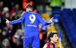 Torres lập đại công, Chelsea đặt một chân vào bán kết