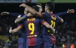 Real và Barca song hành với những chiến thắng đậm