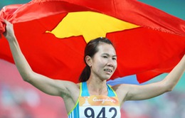"""""""Cô gái vàng điền kinh Việt Nam"""" và khát vọng trở lại đường đua"""
