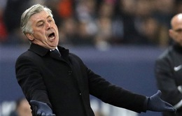 """HLV Ancelotti: """"Chúng tôi thua vì nhút nhát, vì Messi"""""""