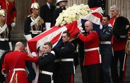 Toàn cảnh lễ tang cựu Thủ tướng Anh, Margaret Thatcher