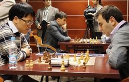 Kết thúc giải cờ vua Aeroflot 2013: Quang Liêm dừng bước ở vòng 1/16