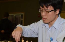 Quang Liêm vượt qua vòng đầu cờ nhanh giải Aeroflot