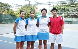Quần vợt nữ Việt Nam khởi đầu thuận lợi tại Fed Cup