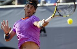 Nadal thắng trận đánh đơn đầu tiên sau hơn 7 tháng nghỉ đấu