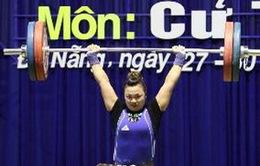 Khởi tranh Giải vô địch cử tạ thiếu niên toàn quốc 2013