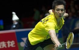 Giải cầu lông toàn Anh mở rộng: Tiến Minh cùng nhánh đấu Lee Chong Wei