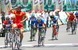Giải đua xe đạp Cúp HTV 2013: Nguyễn Thành Tâm vẫn chắc Áo đỏ