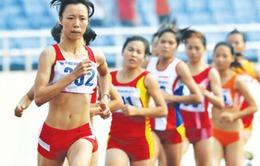 ĐT điền kinh lên đường dự giải châu Á 2013